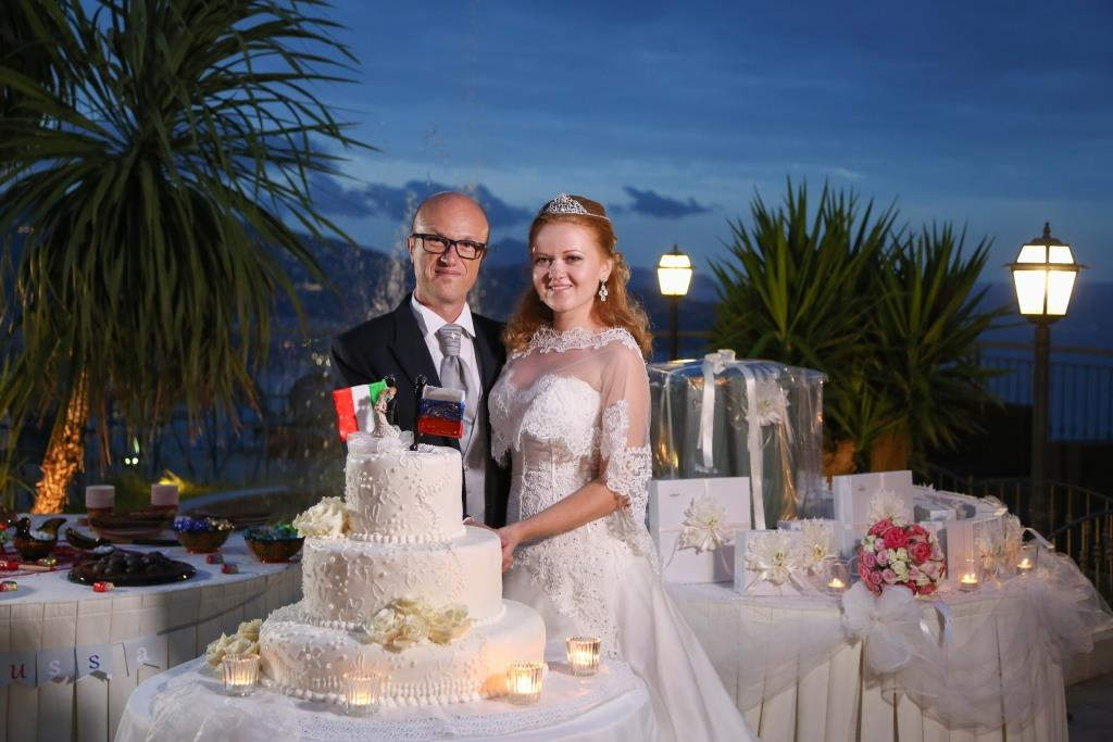 italian russian wedding